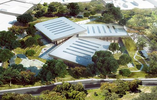 Mini Arena Santa Marta Diseño Bioclimatico y Modelacion E