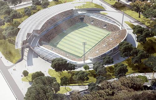 Mini Estadio Santa Marta Diseño Bioclimatico y Modelacion E