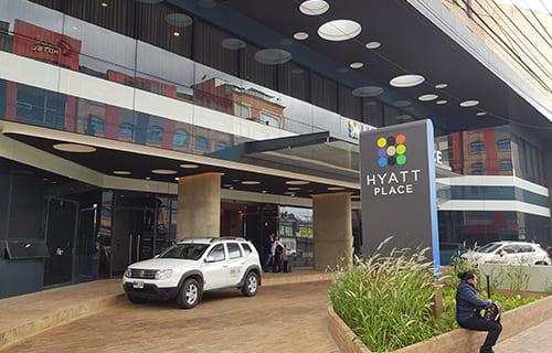 Mini Hotel Hyatt Place LEED NC