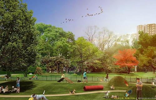 Mini Parque Residencial Vivero LEED C&C